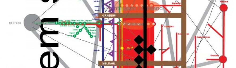 Ohio River Mainstem system map